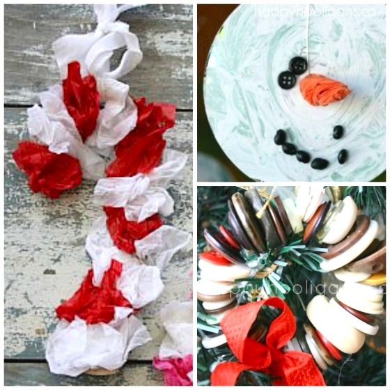 26 more easy christmas ornaments for kids - Easy Christmas Crafts For Preschoolers