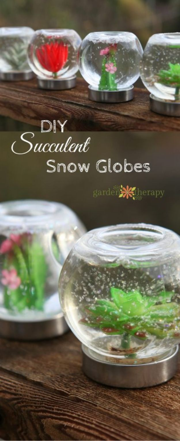 34 DIY Snow Globes to Make This Winter Homemade snow