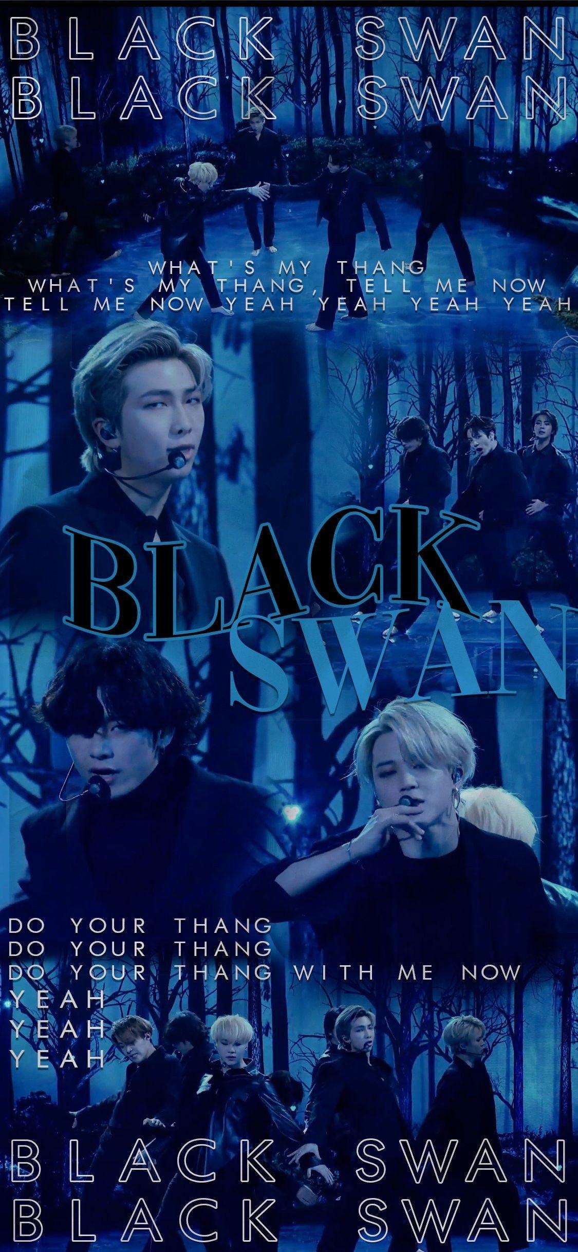 Bts Black Swan Wallpapers Lockscreen In 2020 Bts Wallpaper Bts Lyric Black Swan
