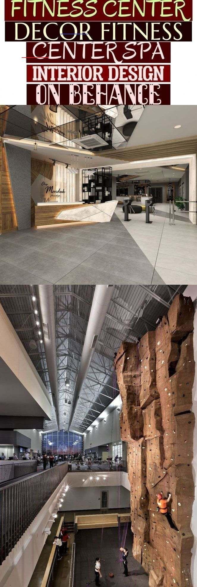 Fitness Center Decor Fitness Center Spa Interior Design On Behance ~ #fitness fi...  #Behance #Cente...