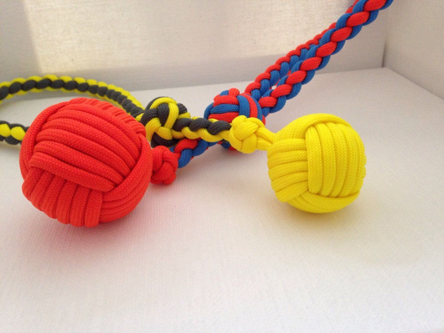 Paracord Durable Dog Toy Monkey S Fist Toy Custom Made Paracord