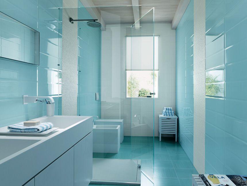 Piastrelle Bagno Turchese : Piastrelle per bagno pura bathroom piastrelle