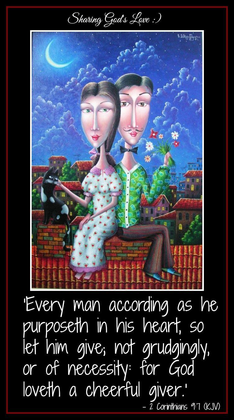 ♥-God Loves A Cheerful Giver-♥Cada uno de como propuso en su ...