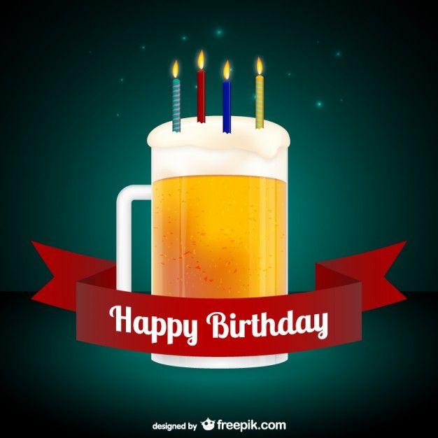 Happy Birthday Images Hombres ~ Happy birthday card with beer pinterest feliz cumplea�os para hombres