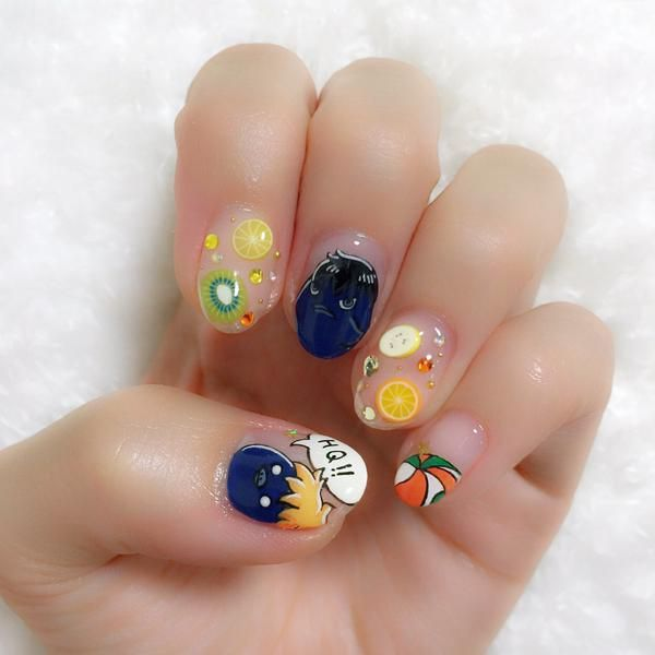 Haikyuu Anime Nails - Anime Wallpaper HD