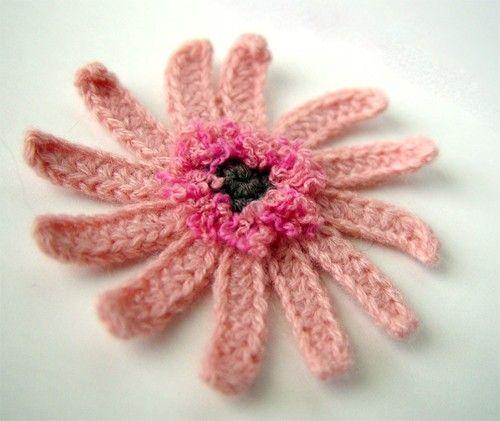 Crochet Gerbera Daisy Flower Pattern Pdf Crochet Flowers