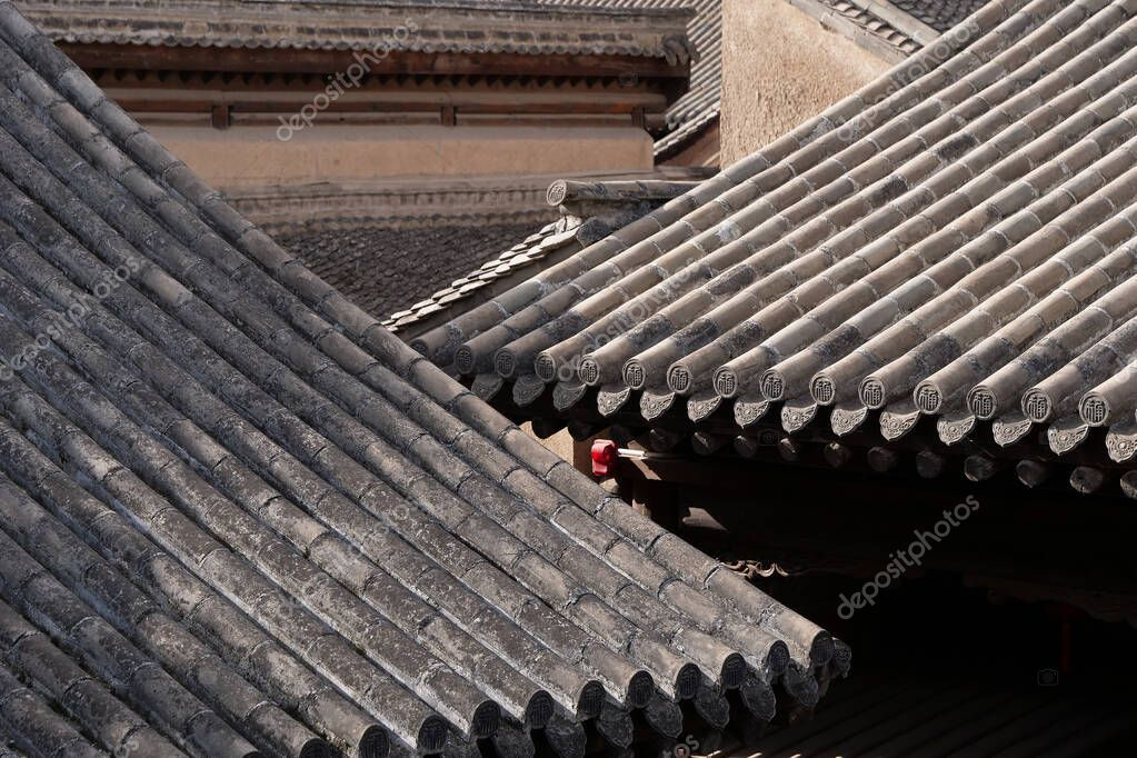 Traditional Chinese Residences Architecture Tile Roof In Tianshu Stock Sponsored Residences Architecture Tra In 2020 Architecture Traditional Mandala Design
