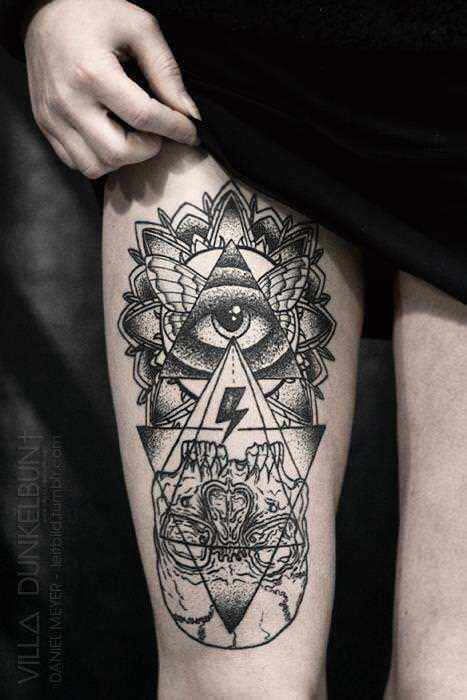 Esoteric: Synonym: This tattoo is an esoteric tattoo because the