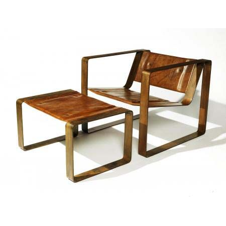 \\ square chair w/ottoman http://www.roganobjects.com/