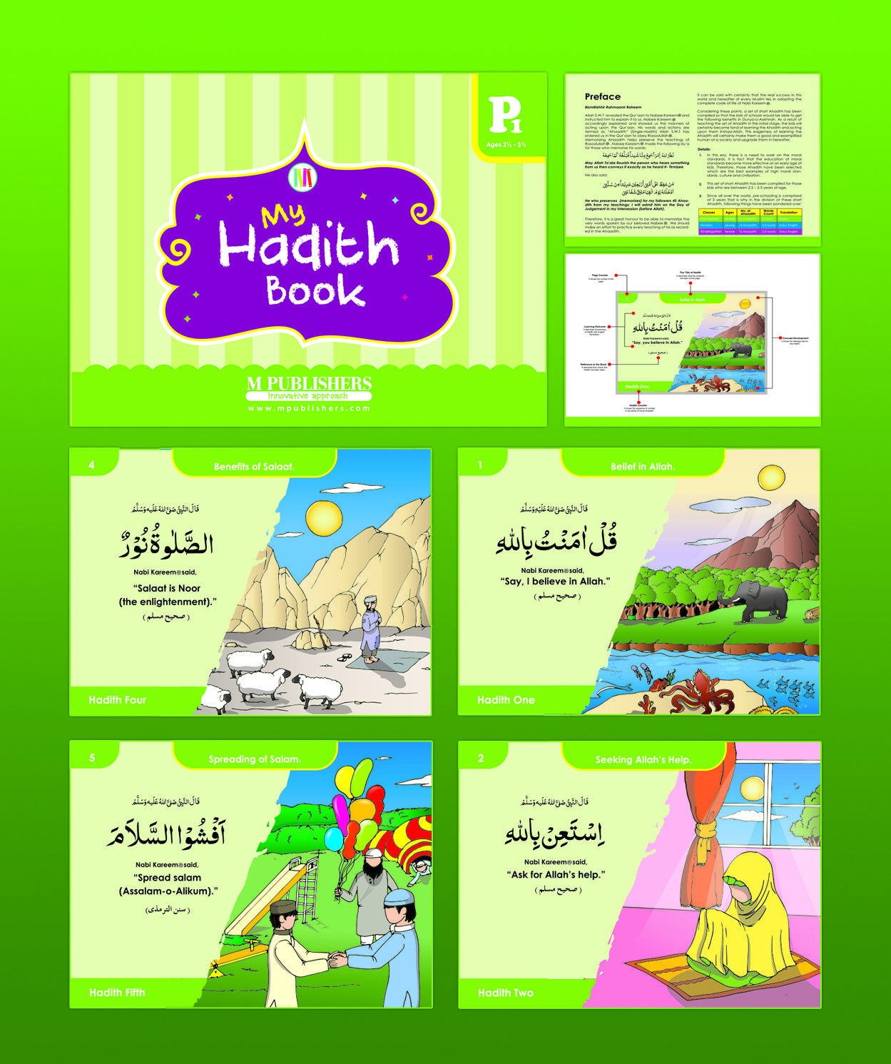 Lessons In Islam My Hadith Book P1 Ages 2 5y To 3 5y