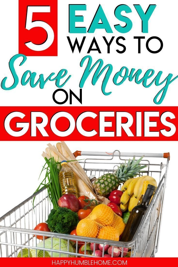 5 Tips to Spend Less on Groceries Save money on