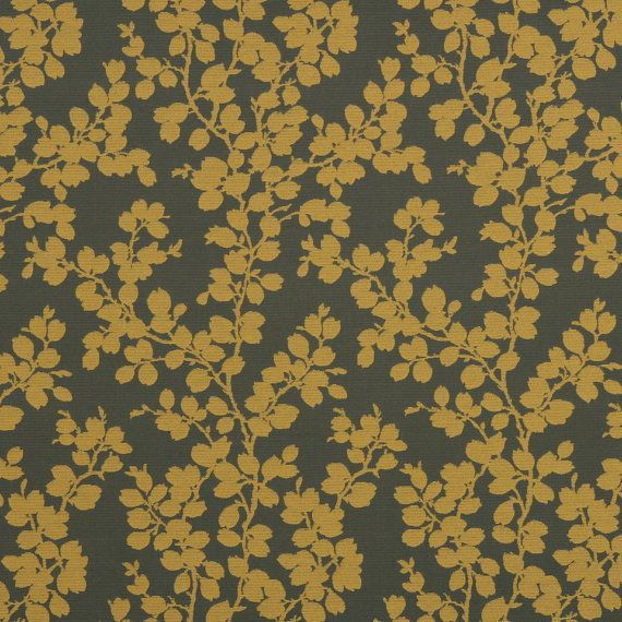 Dark Blue Upholstery Fabric Royal Leaf For Kitchen Chairs And Sofas Fl Navy Throw Pillows