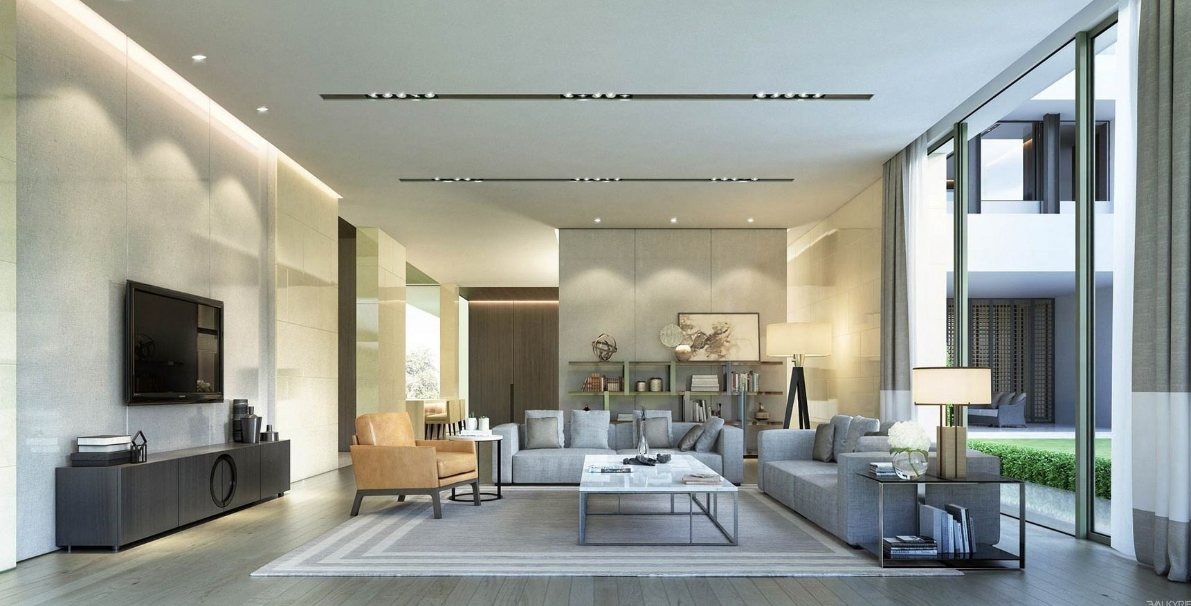 Pin Di Living Rooms Spacious living room means