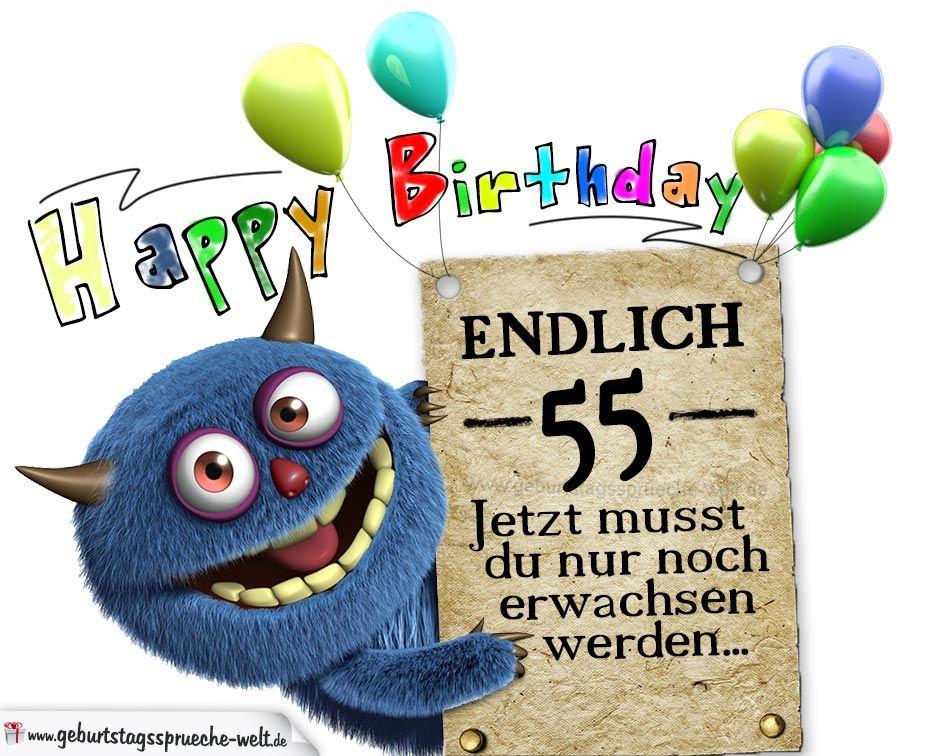 Gluckwunsche Zum 55 Geburtstag Lustig Erwachsen Jpg 948 756