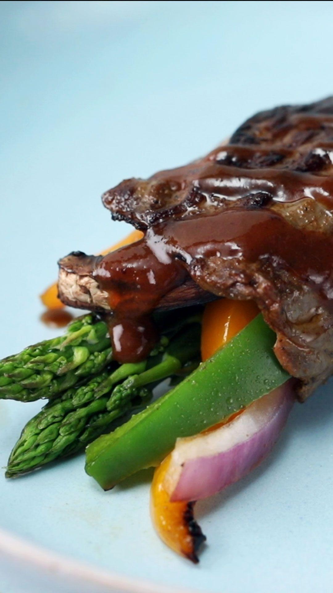 Rolls de Carne y Vegetales
