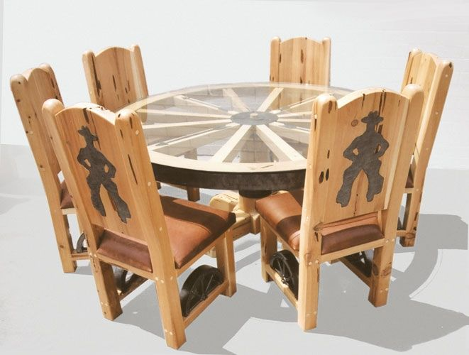 Wheeled Dining Chairs - Foter | Wagon wheels | Pinterest ...