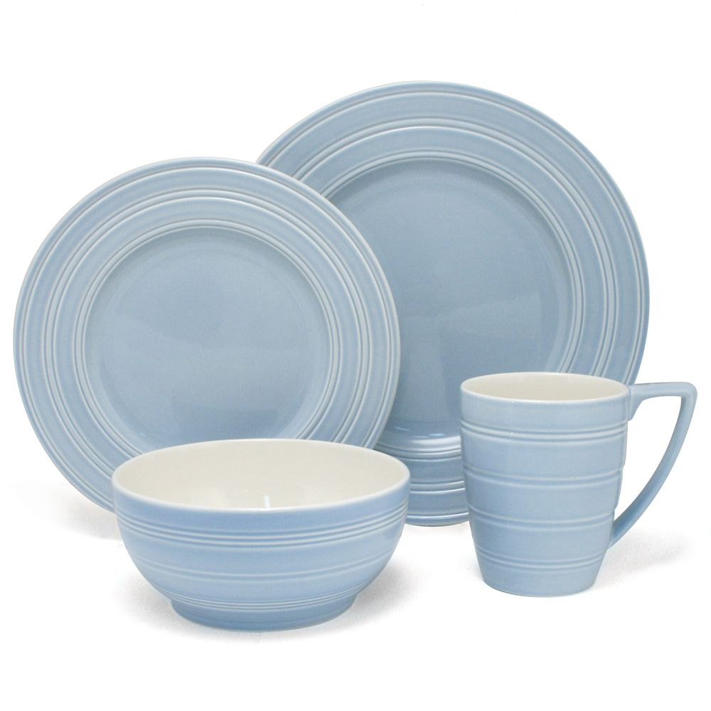Peter\u0027s of Kensington | Wedgwood - Jasper Conran Casual Blue Dinner Set 16pce  sc 1 st  Pinterest & Peter\u0027s of Kensington | Wedgwood - Jasper Conran Casual Blue Dinner ...