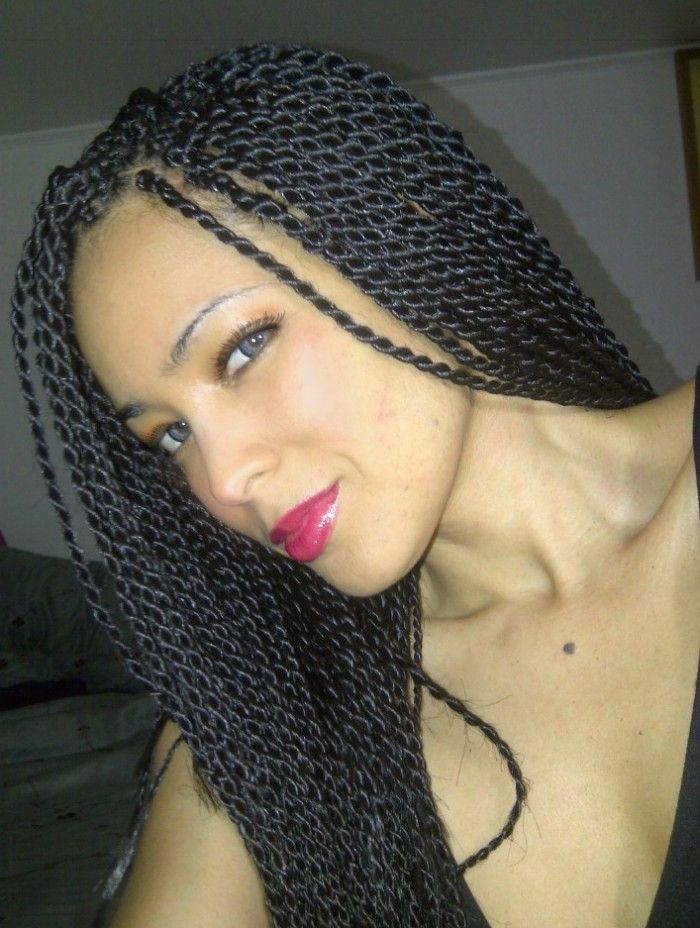twist braid hairstyles black