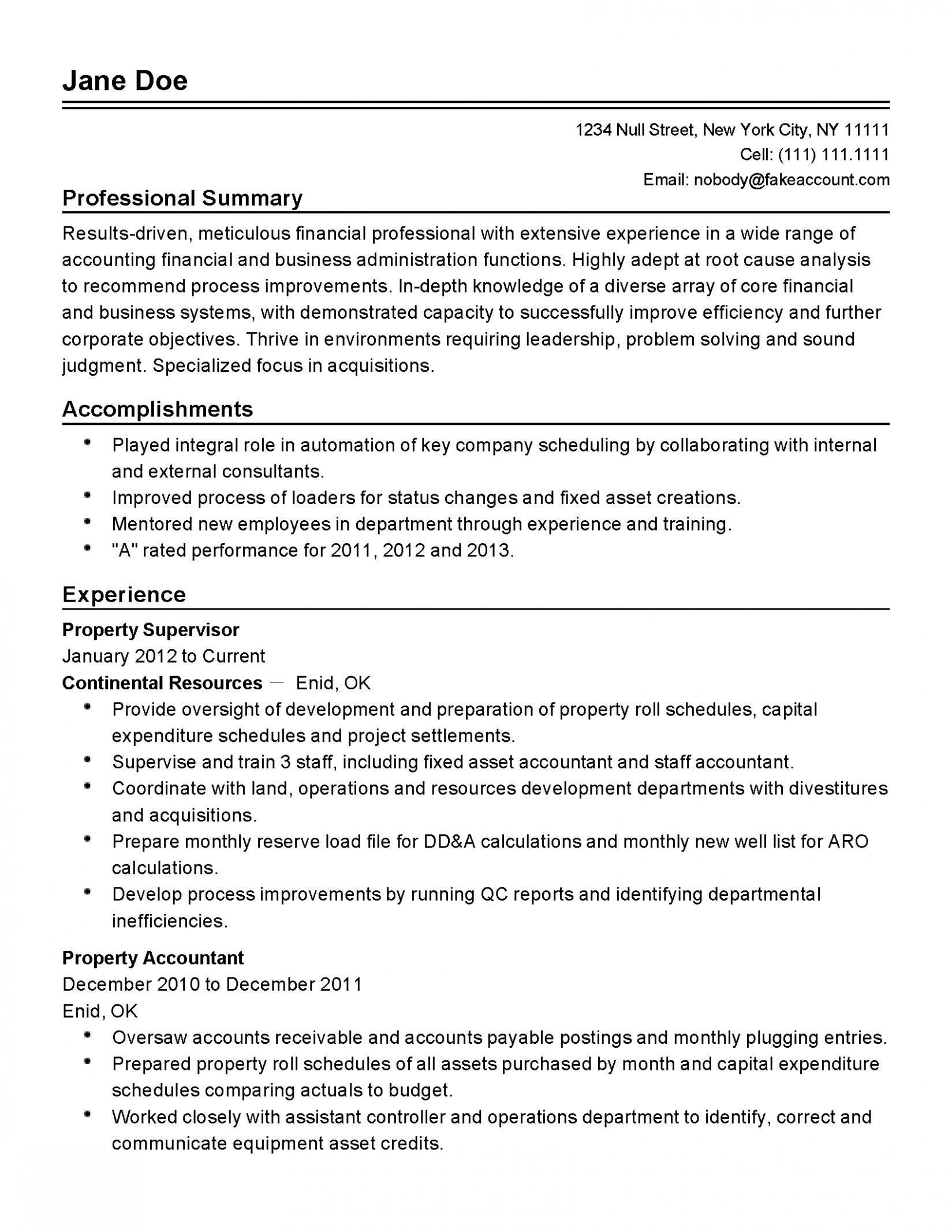 11 Psw Resume Pattern