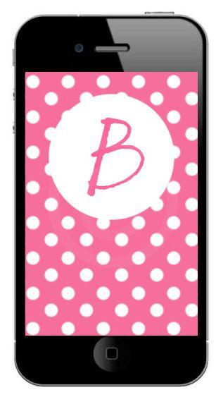 Pink Dot Phone Wallpaper $2.00 SOLD
