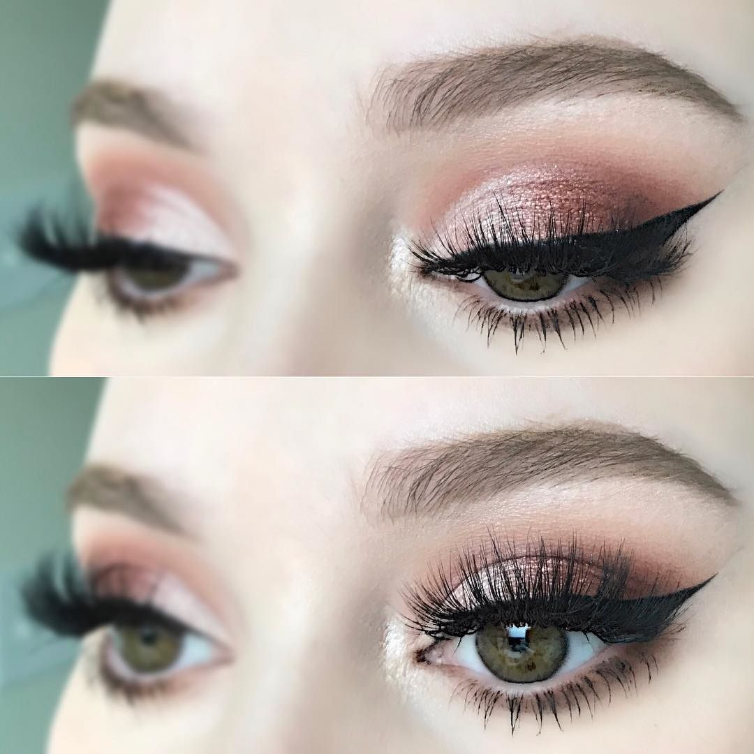 "Lashes: @velourlashesofficial ""It's Sho Fluffy"" Mink Lashes via @beautybysarahkay"