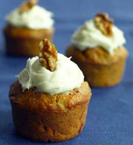 Carrot Zucchini Cupcakes...a bit of a twist on carrot cake