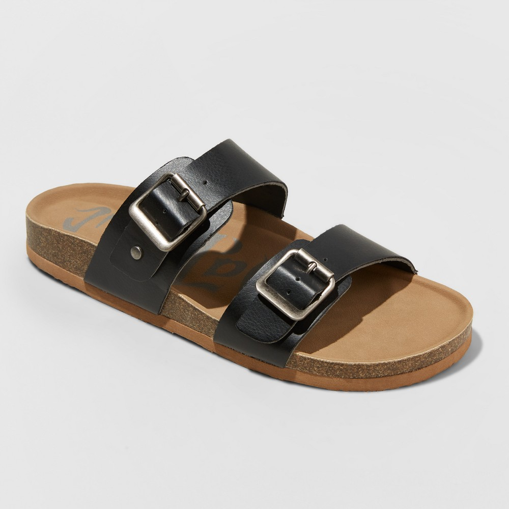 a650633366fc Slide into everyday casual style with these footwear essentials! The Mad  Love Keava Footbed Sandals