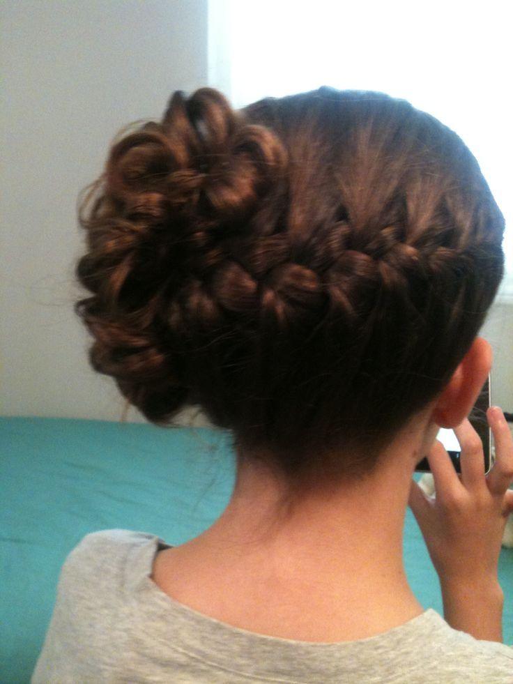 Junior Bridesmaid Hairstyles Wedding Hairstyle Jr Bridesmaid Hair Braid Junior Bridesmaid Hair Bridesmaid Hair Hair Styles