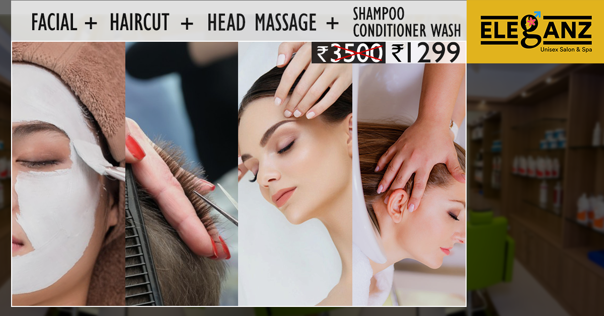 Eleganz Beauty Special Combo Offer At An Affordable Price Facial
