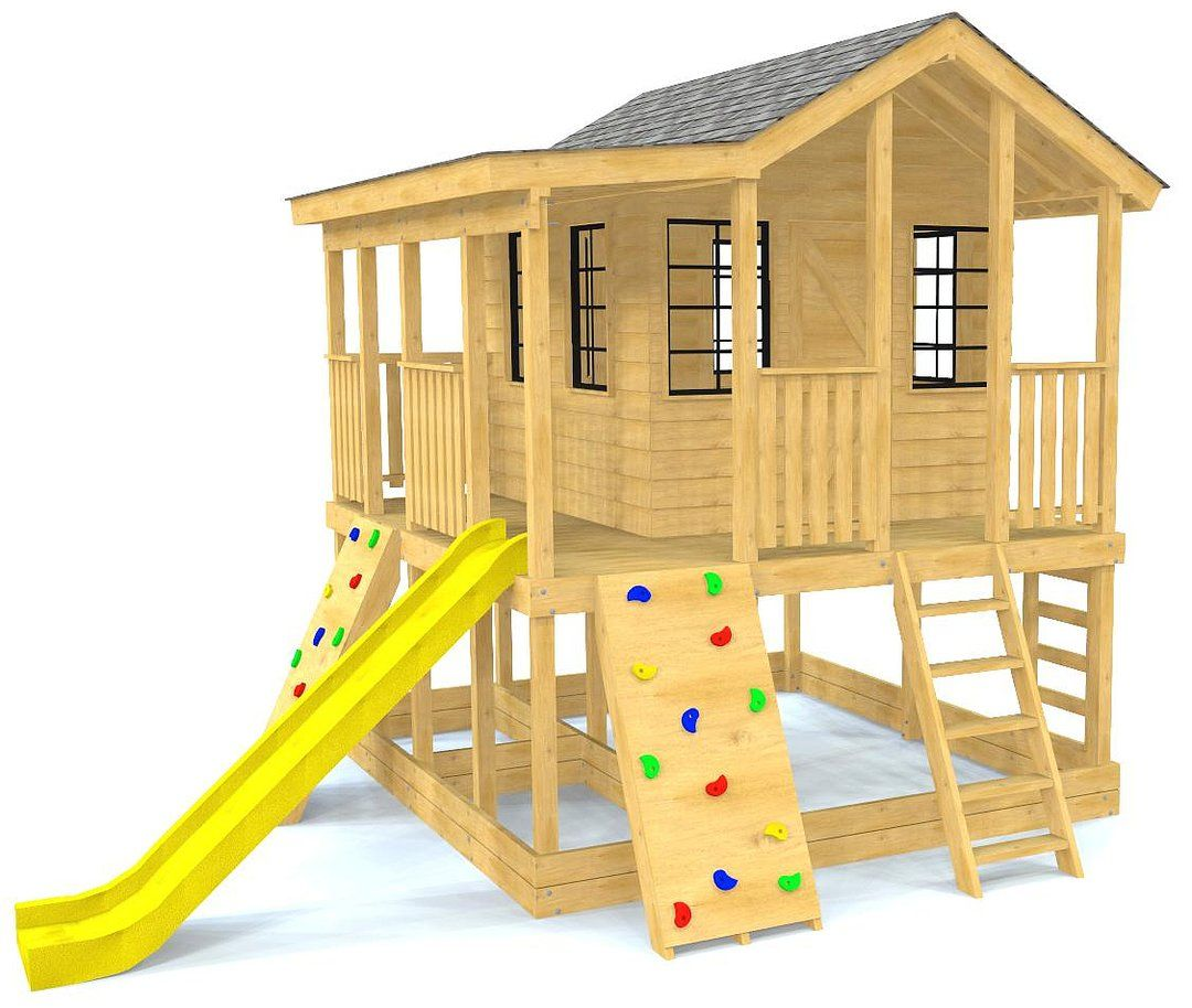 Randy's Ranch Playhouse Plan Play houses, Build a