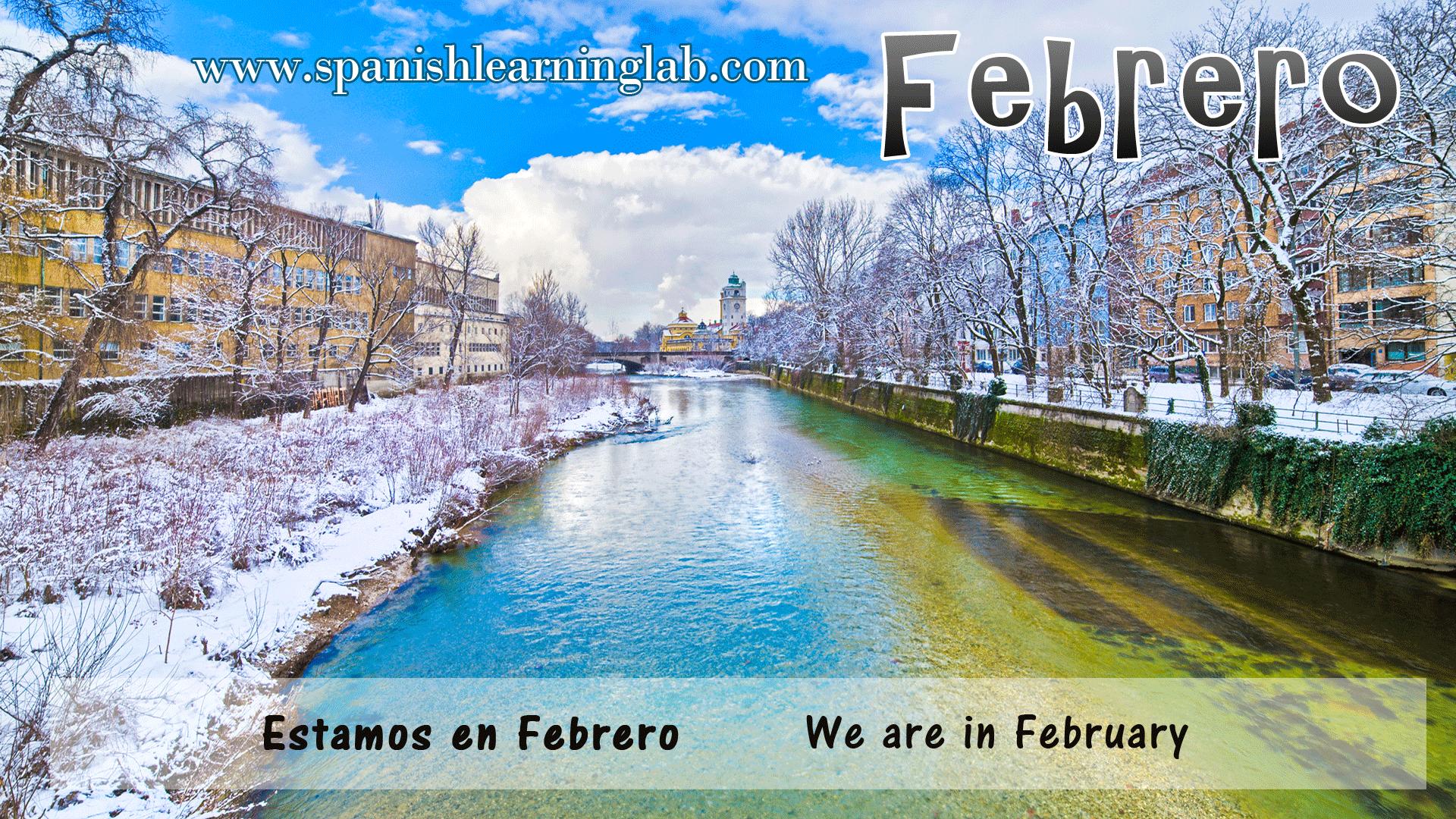 Febrero es el segundo mes del año http://www.spanishlearninglab.com/spanish-months-of-the-year/