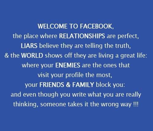 funny family quotes for facebook | Facebook relationship quotes, Funny quotes