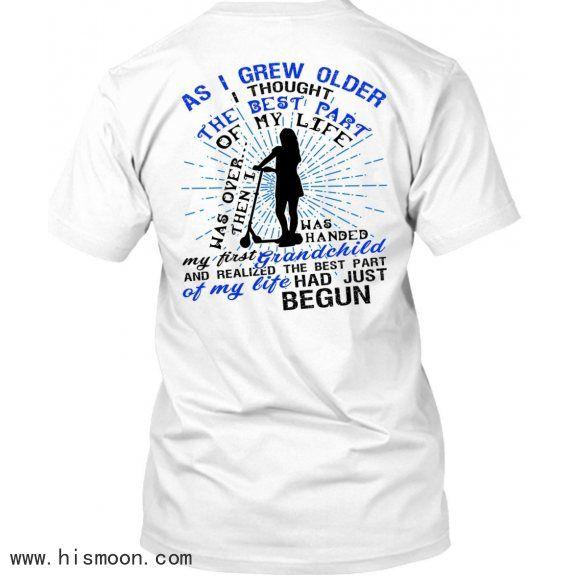 My First Grandchild T-shirts I Love Grandbaby T-shirts Premium Fan