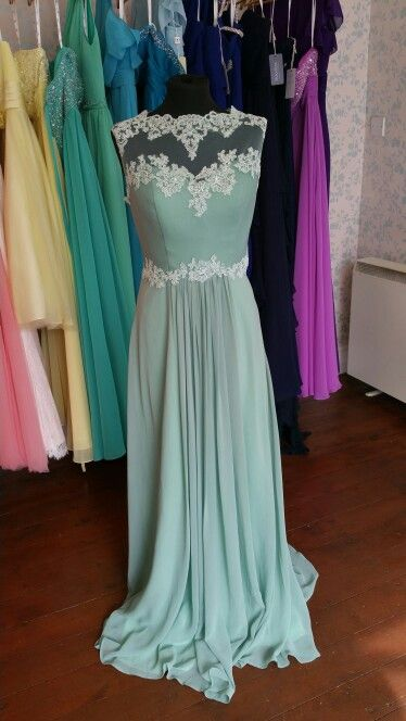 Lace bridesmaid gown available in all colours Elenor Rose Bridal ...