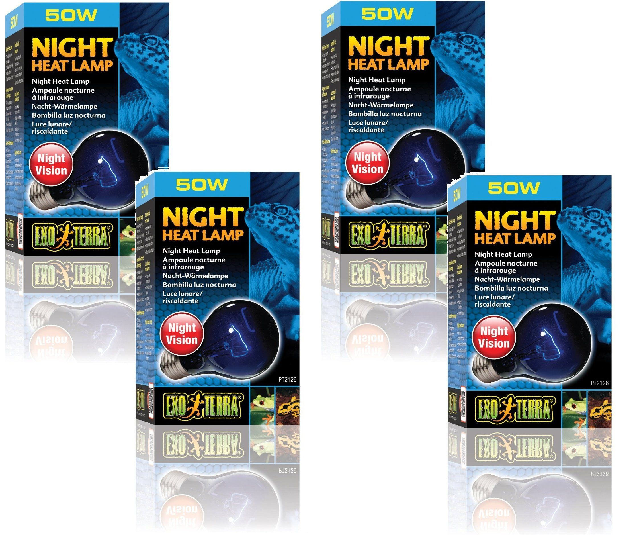 Exo Terra Night Glo Moonlight A19 Lamp 50 Watt 4 Pack Ad Glo Affiliate Moonlight Night Exo Free Dog Food Dry Dog Food Complete Nutrition