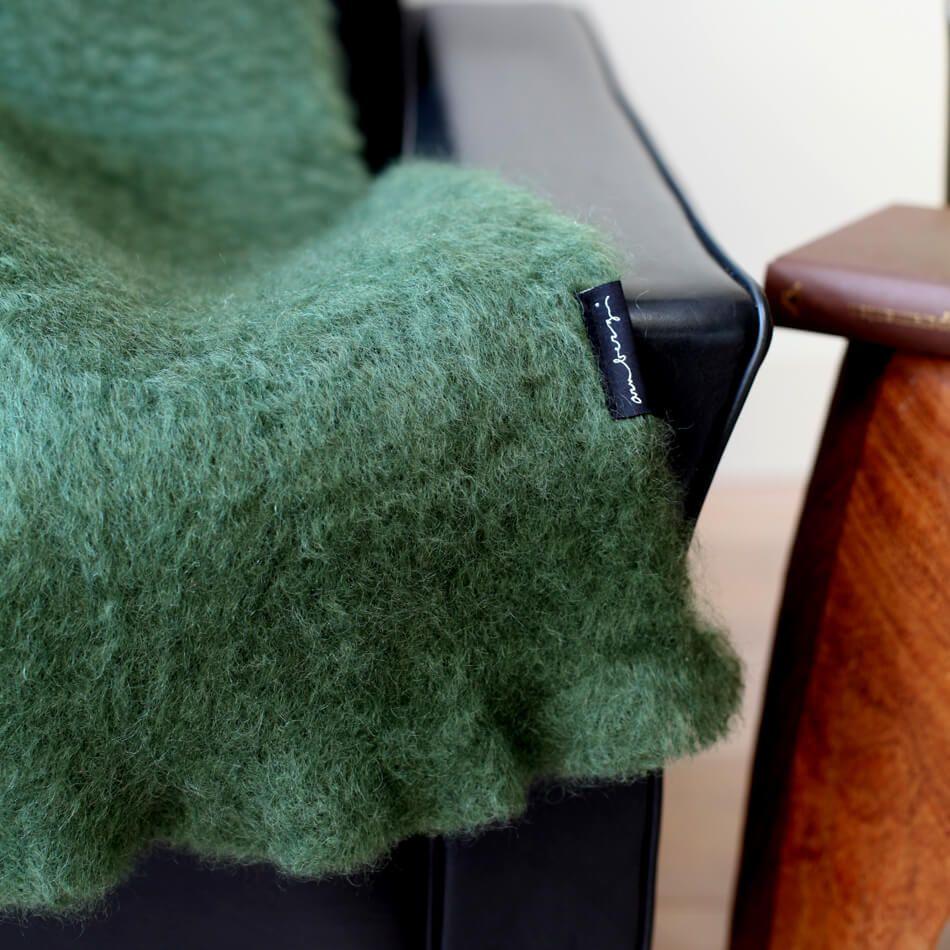 Wolldecke Grun Wolldecke Alpaka Decke Decke
