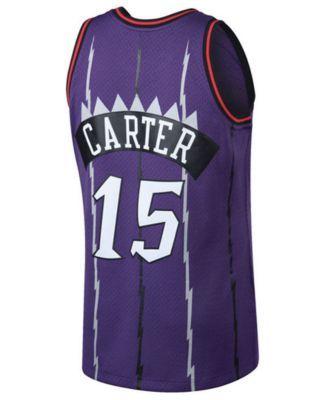 e6b1999c Mitchell & Ness Big Boys Vince Carter Toronto Raptors Hardwood Classic  Swingman Jersey - Purple/