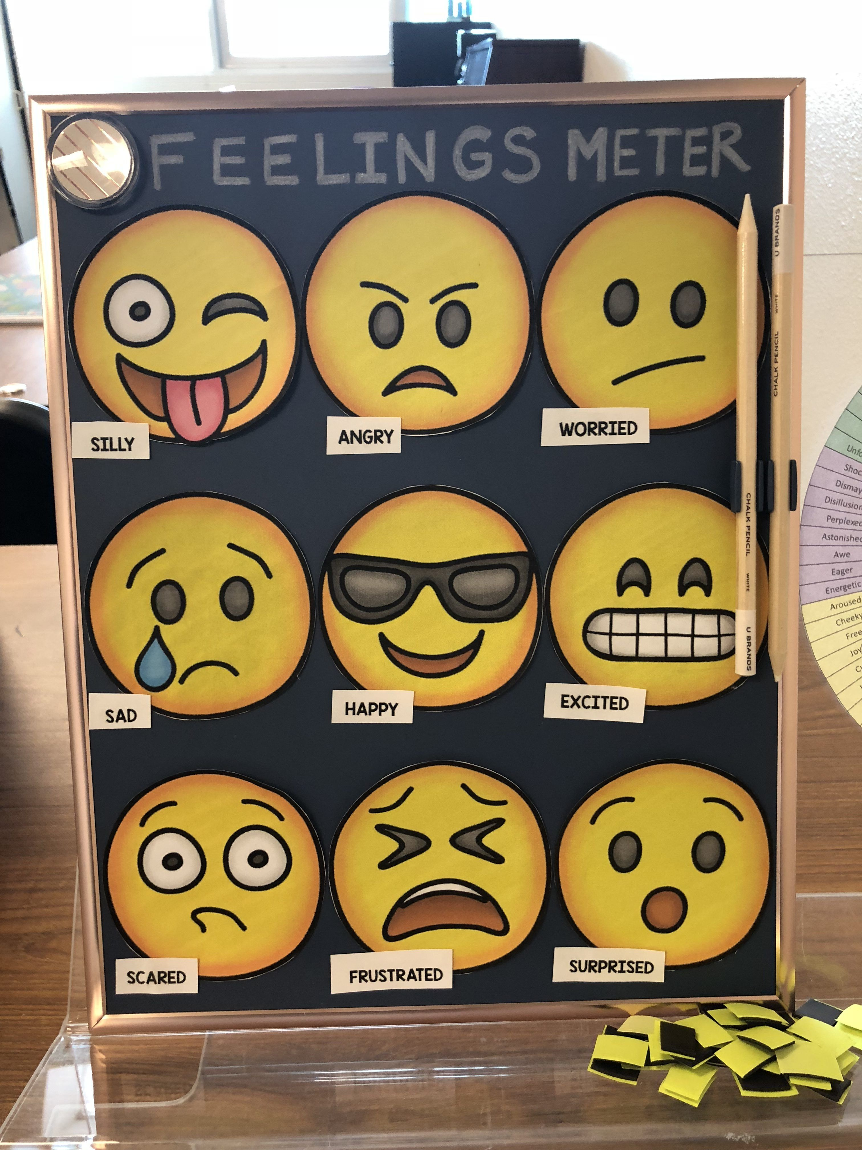What Makes Sel Work >> Learn How To Make This Feelings Meter More Sel Strategies At