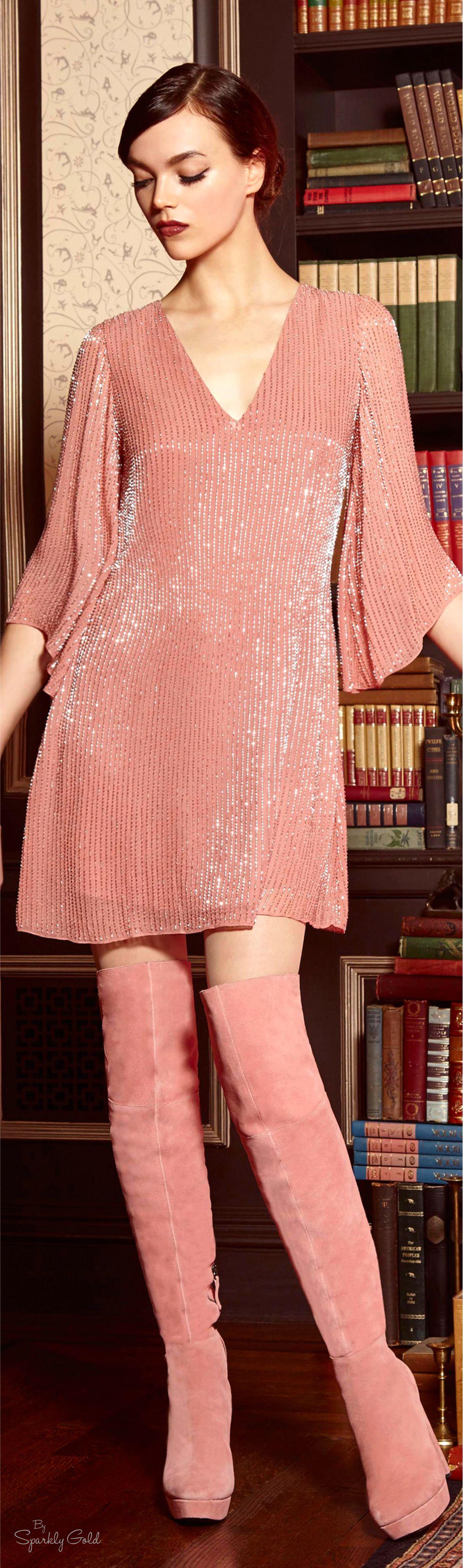 Alice + Olivia Pre-Fall 2016 | Glam | Pinterest | Vestidos cortos ...