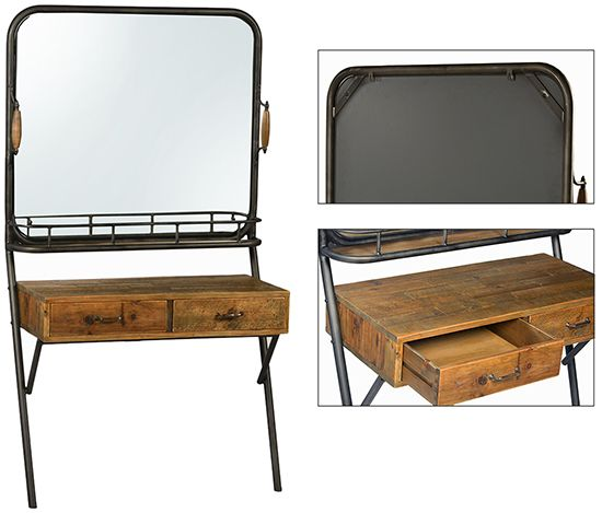 Incroyable Camley DOV5138 Dressing Table 39wx18dx71h Http://www.dovetailfurnitureonline .com/index