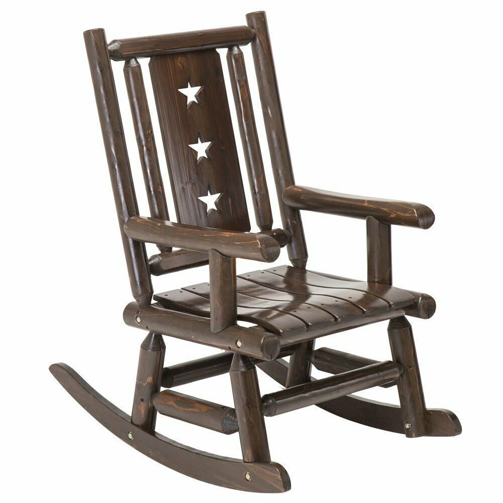 Sensational Details About Rocking Chair Wooden Porch Patio Deck Garden Squirreltailoven Fun Painted Chair Ideas Images Squirreltailovenorg