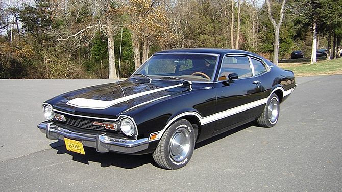 1973 Ford Maverick Grabber 302 Ci 3 Speed Mecum Auctions Ford