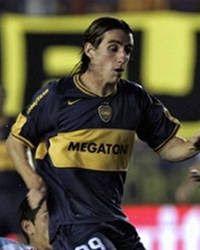 Andrés Franzoia.Campeón con Boca Juniors en Torneo Apertura 2005,Torneo Clausura 2006 y Recopa Sudamericana 2006.