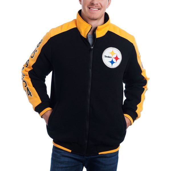 d23b333ae Picture of Pittsburgh Steelers GIII Classic Varsity Jacket