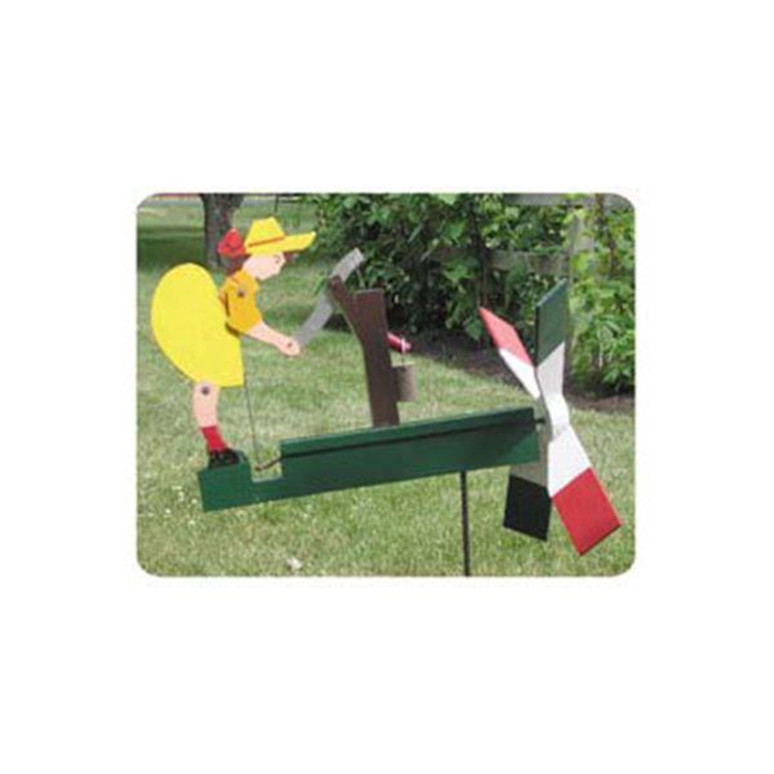Woodcraft Woodworking Project Paper Plan To Build Waterpump Girl Whirligig In 2021 Wood Crafts Whirligigs Patterns Woodworking Projects