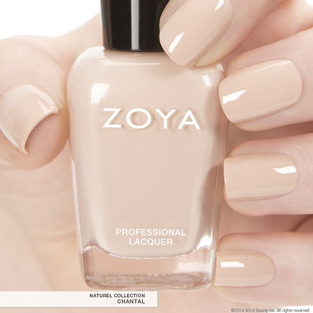 Zoya Nail Polish in Chantal a full-coverage, French Vanilla cream ...