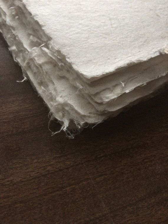A Single Sheet Of 11x14 High Quality Handmade Paper Made Of Kozo Fiber And Bamboo Kozo Is A Traditional Japanese Papermaki Handmade Paper Handmade Rice Paper