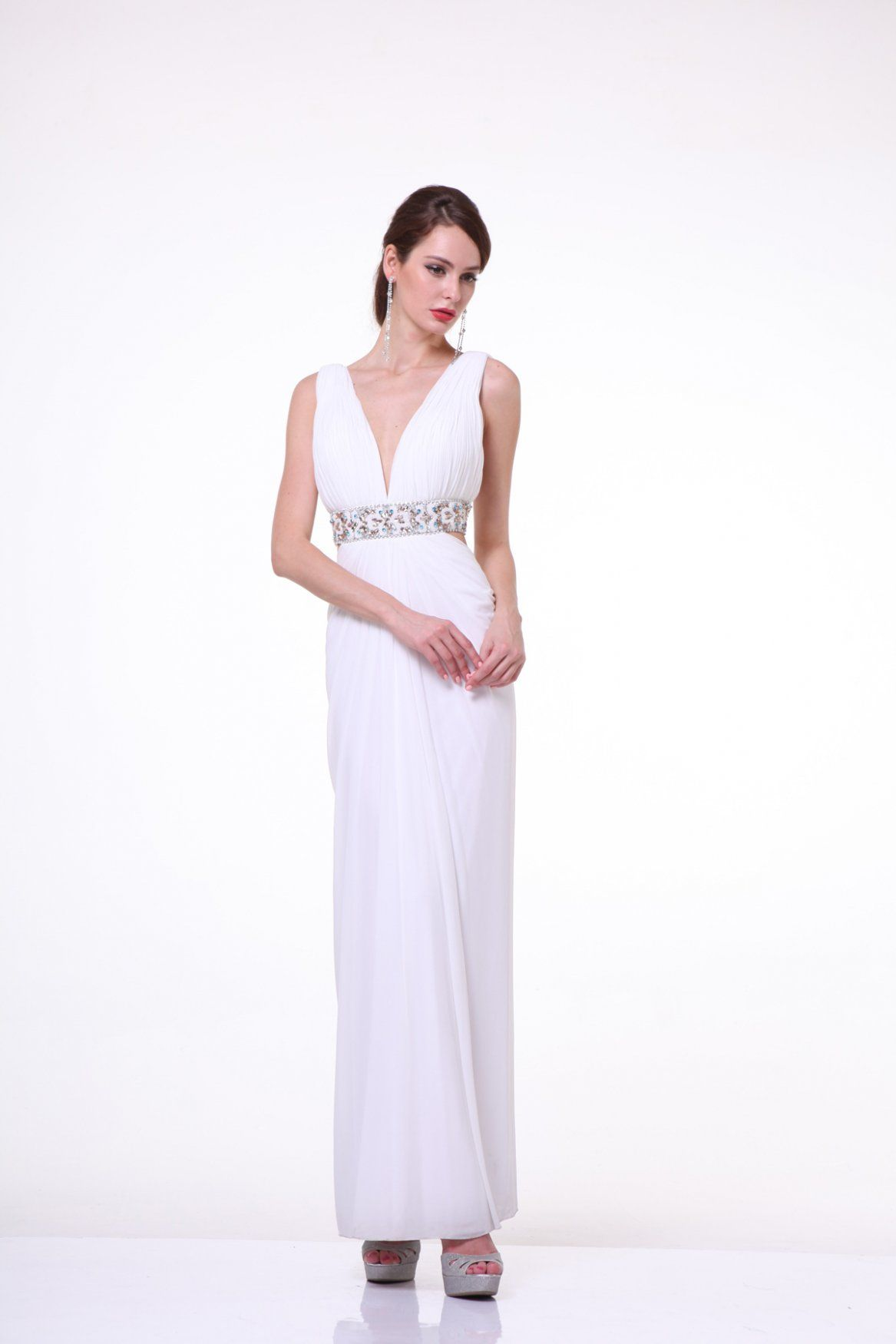 Look like a greek goddess in this fantastic gown from cinderella