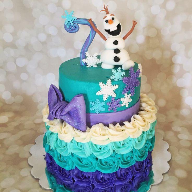 Frozen Cake Pastel Frozen Pastel De Fiesta Fiesta Frozen