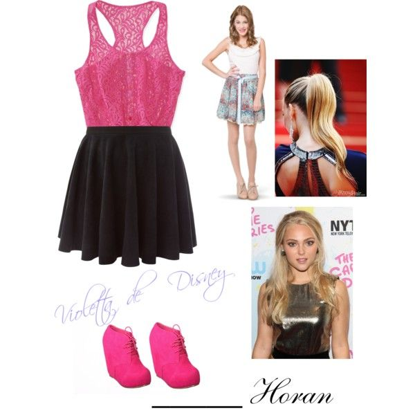 Violetta By Jack Selenagomezliampayne On Polyvore Featuring Mode Disney Women 39 S Clothing